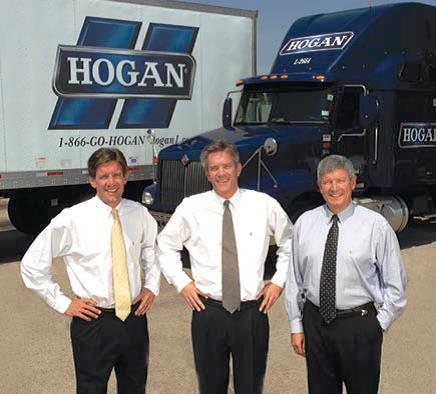 From left, Brian Hogan, David Hogan, Carl Hogan